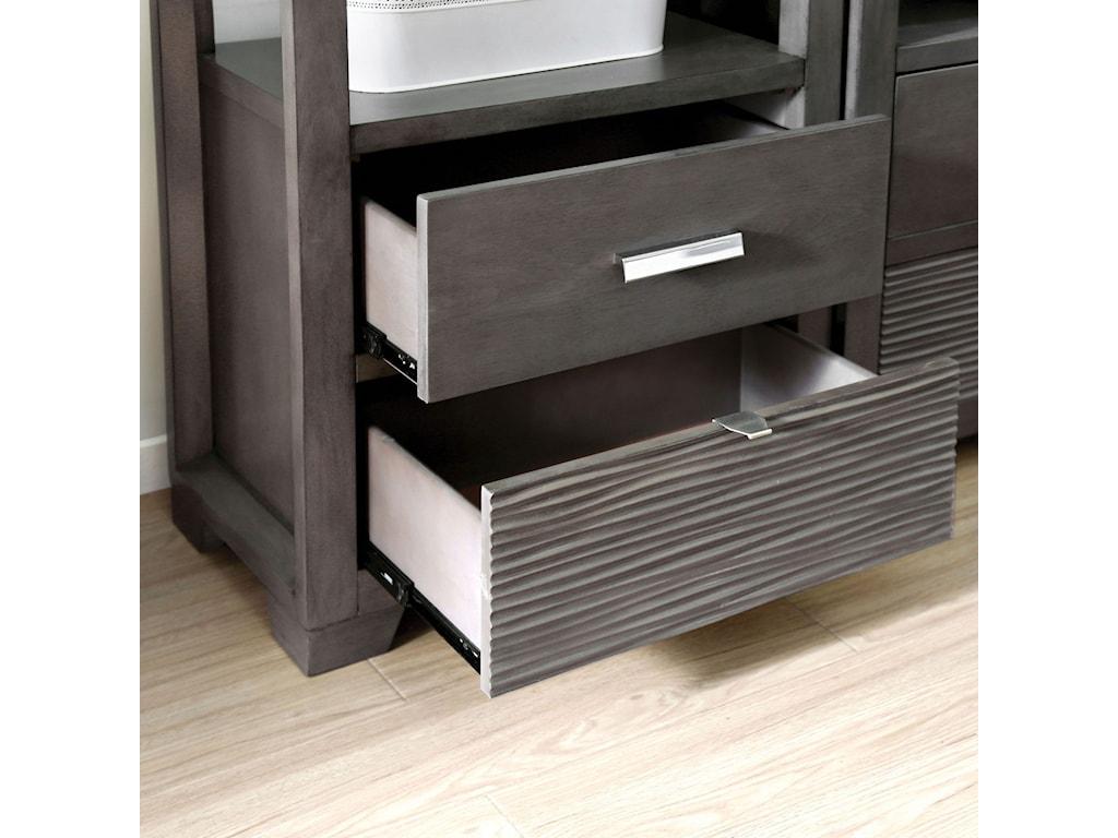 Furniture of America TienenTV Stand Set