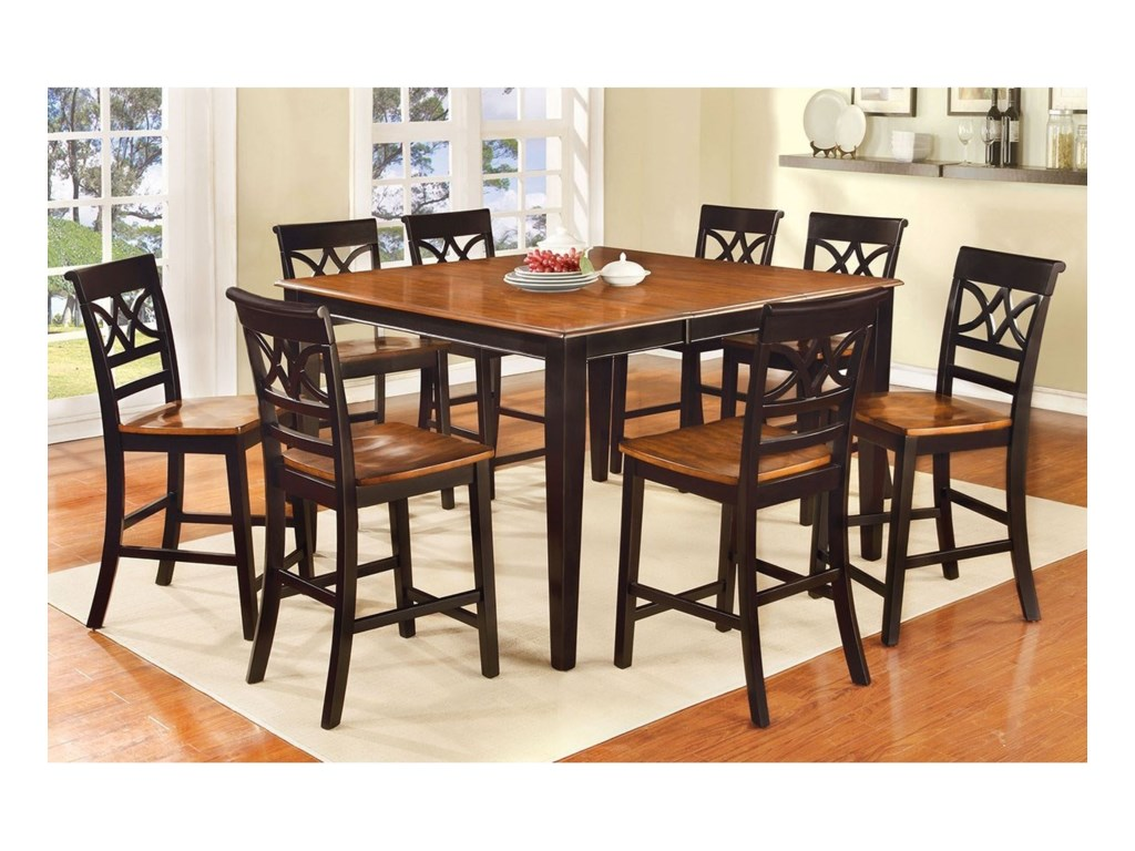 Furniture of America TorringtonCounter Height Table Set