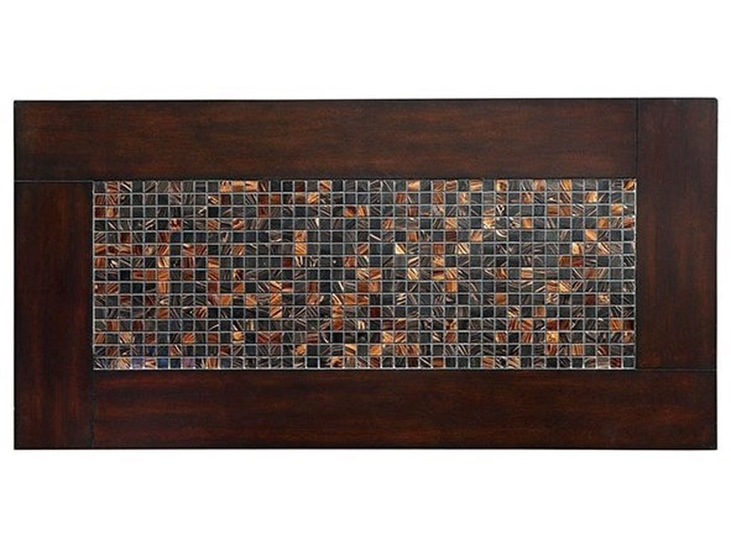 Furniture Of America Townsend I Mosaic Insert Dining Table