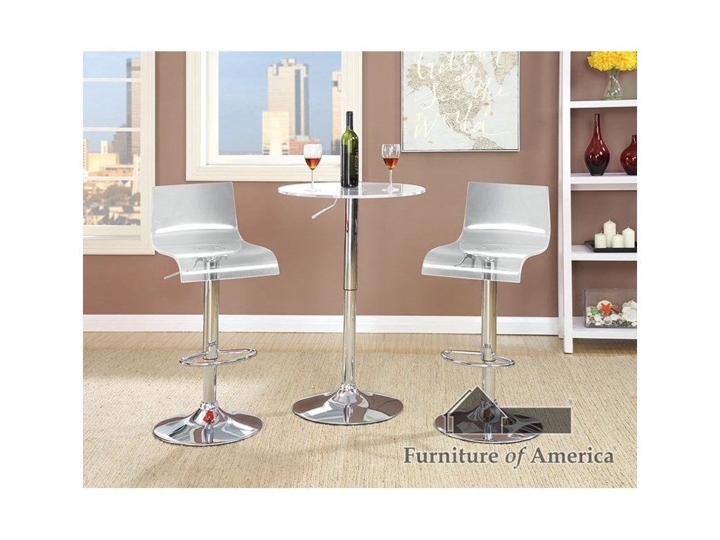 Furniture of America TrixyBar Table