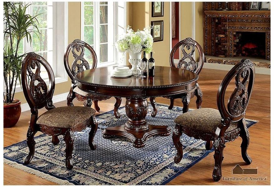 Tuscany Ii Table 4 Side Chairs