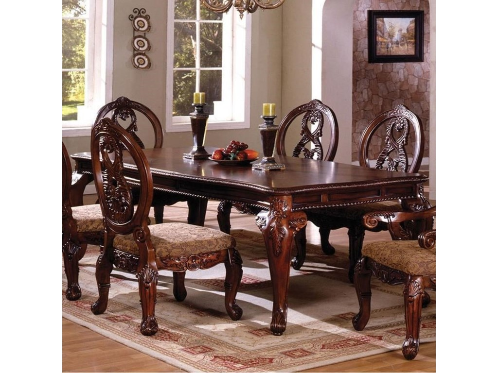 Tuscany II Formal Dining Table by Furniture of America at Rooms for Less