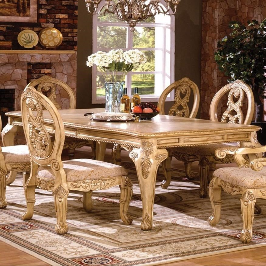 Good Furniture Of America Tuscany III Formal Dining Table