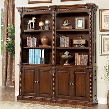 Book Shelf Buffet and Hutch