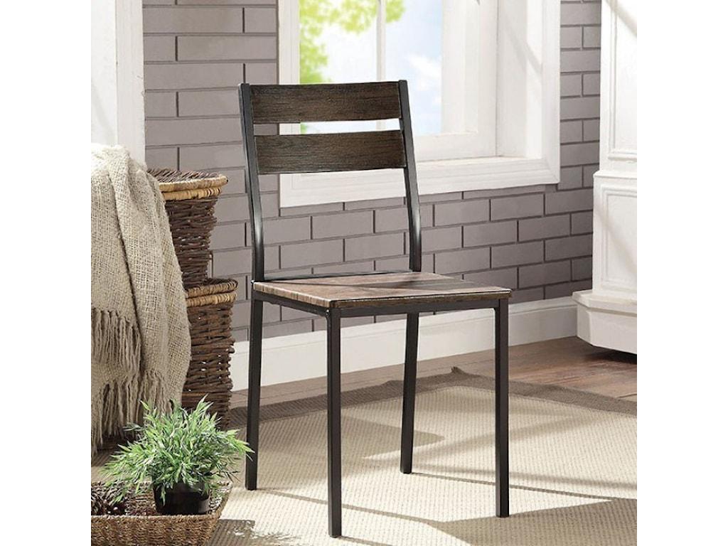 Furniture of America Westport7-Piece Dining Table Set