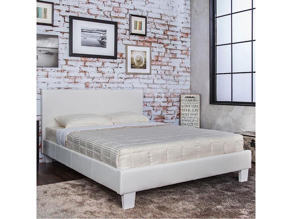 Furniture of America Winn ParkQueen Upholstered Bed