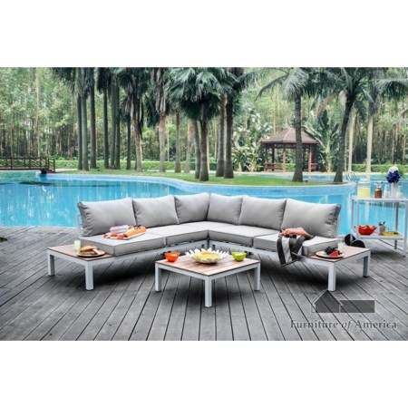 Patio Sectional with Table