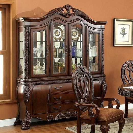 Furniture of America WyndmereHutch Buffet (Touch Lights) ... & Furniture of America Wyndmere Hutch Buffet (Touch Lights) | Rooms ...