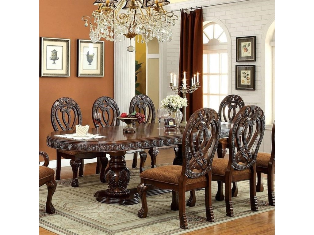 Furniture of america wyndmeredining table