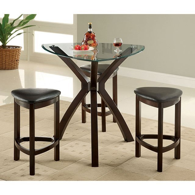 Furniture Of America Xanti Modern Counter Height Dining Set Rooms