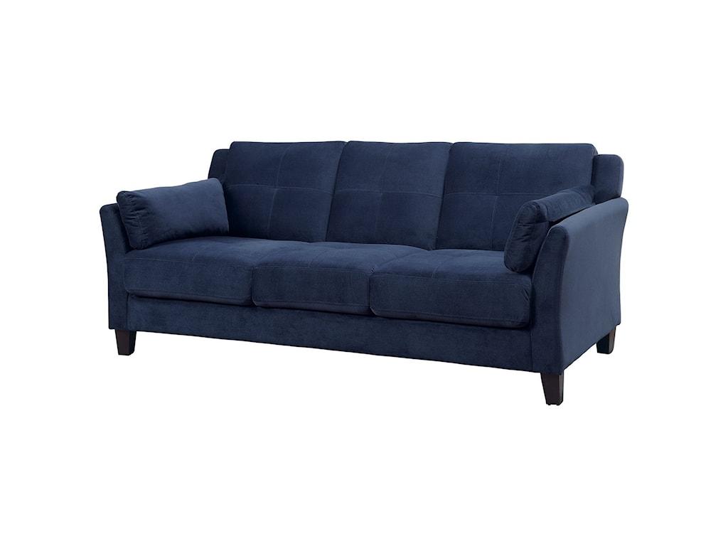Furniture of America Ysabel CM6716NV-SF-PK Contemporary Sofa ...