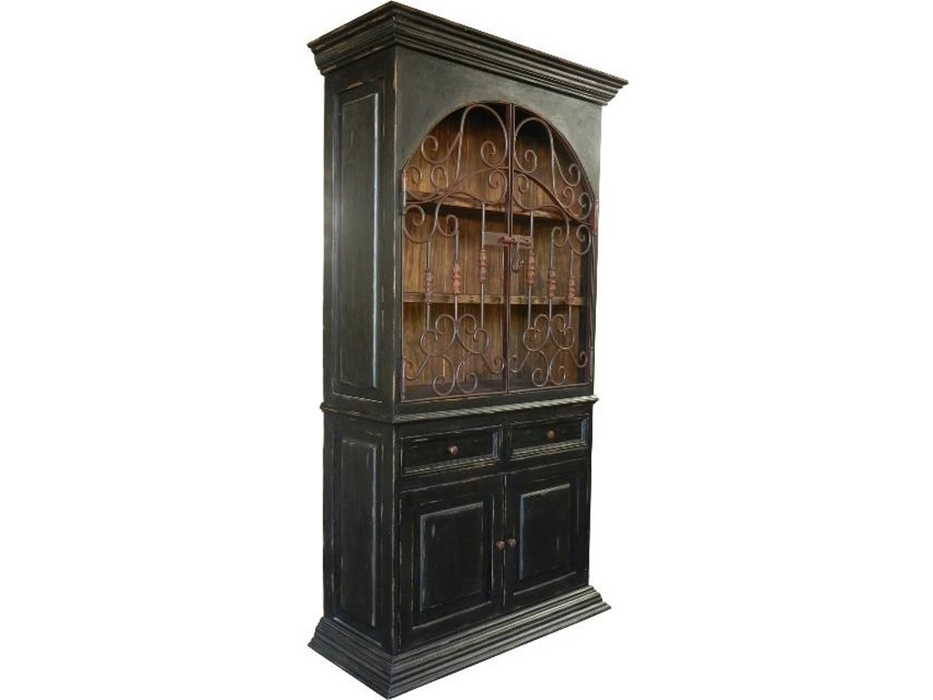 Furniture Source International ArmoiresDominio Antique Black Armoire