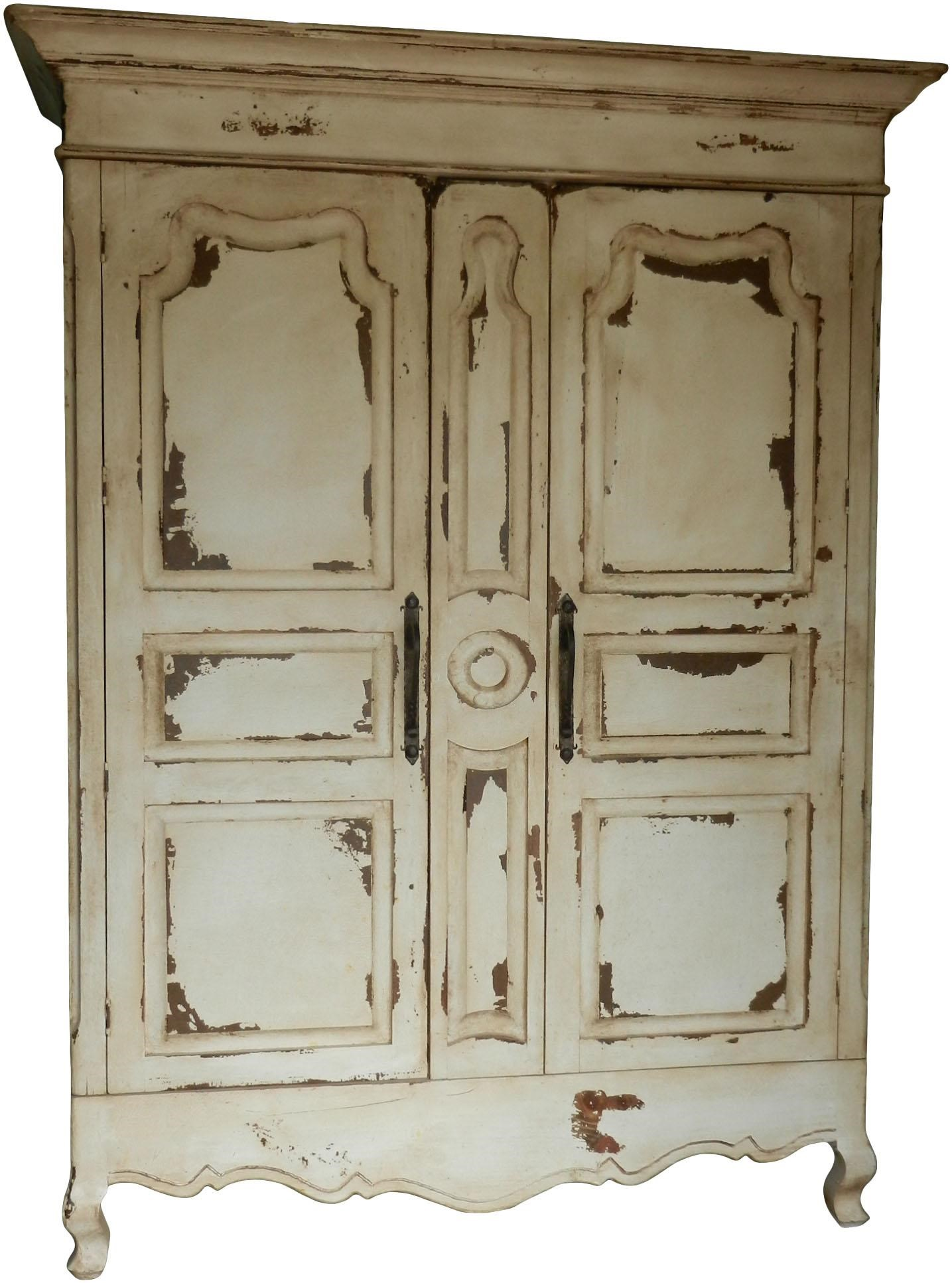 Furniture Source International Armoires Baronial Armoire W/ Carved Doors