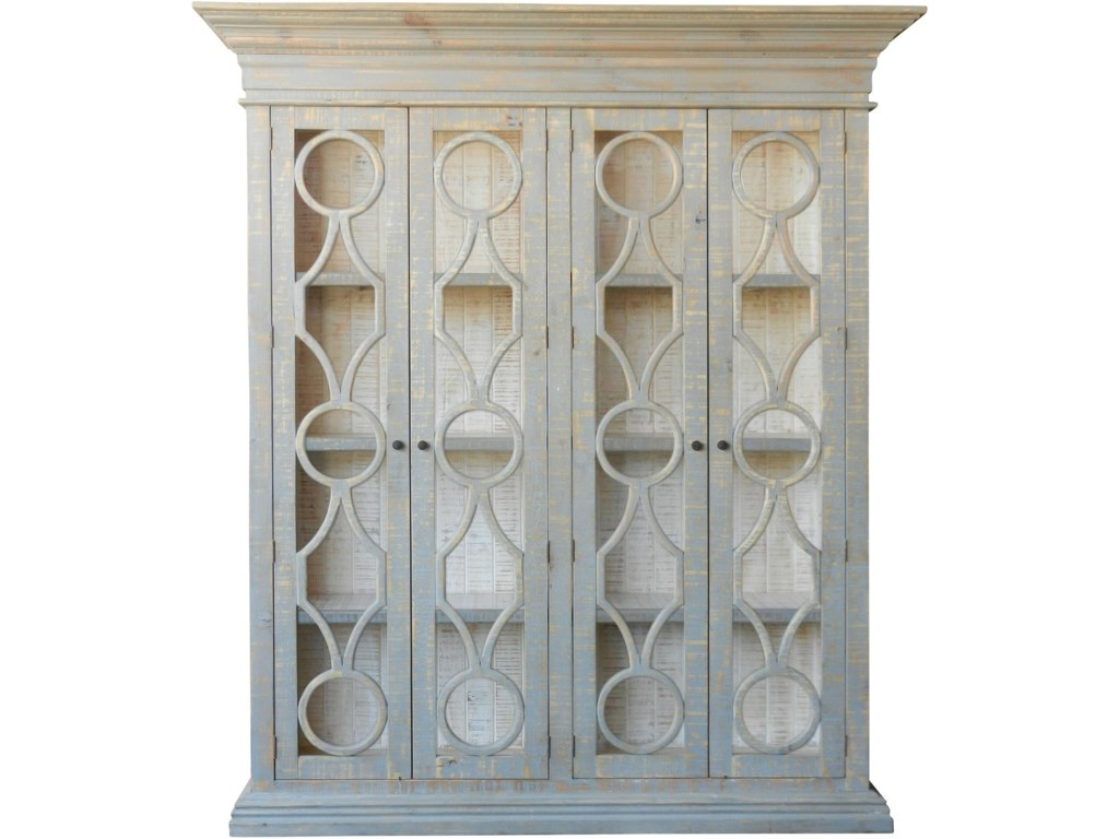 Furniture Source International Display CabinetsMerchant Double Cabinet