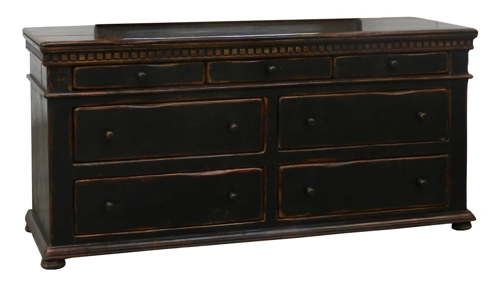 Superb Furniture Source International Easton 7 Drawer Dresser