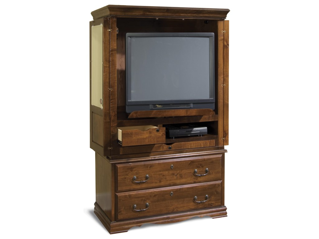 Shown with Television Set