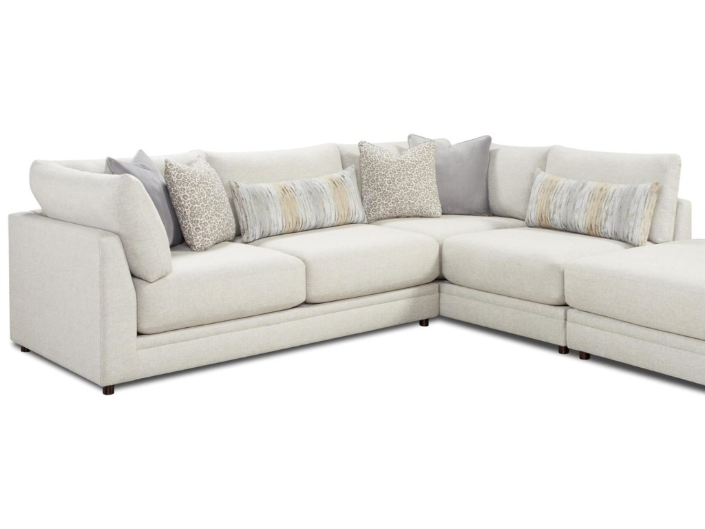 Fusion Furniture 02-312-Piece Sectional