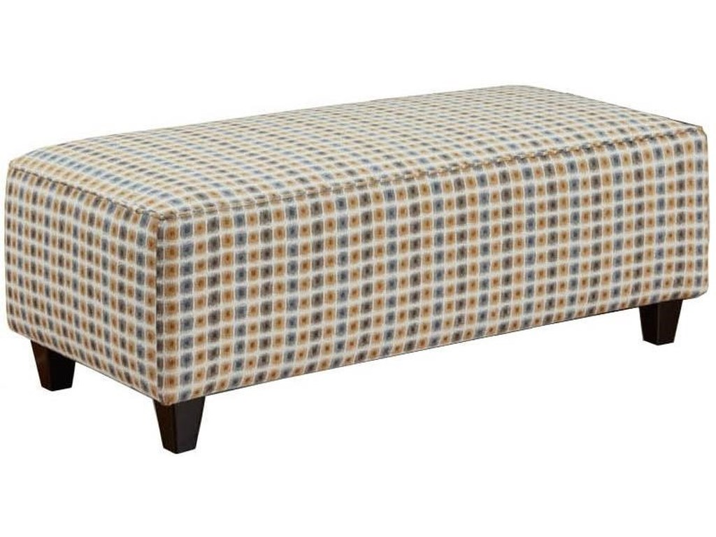 Fusion Furniture Accent Cocktail OttomansCocktail Ottoman