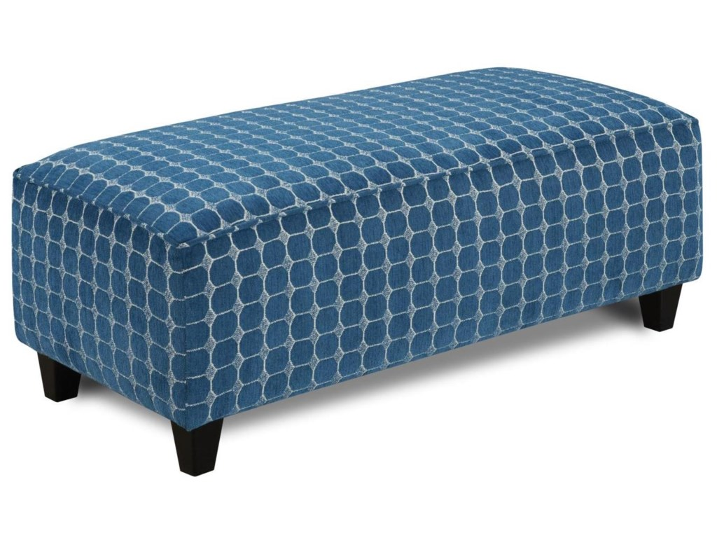 Fusion Furniture Accent Cocktail OttomansMirabelle Contemporary Cocktail Ottoman