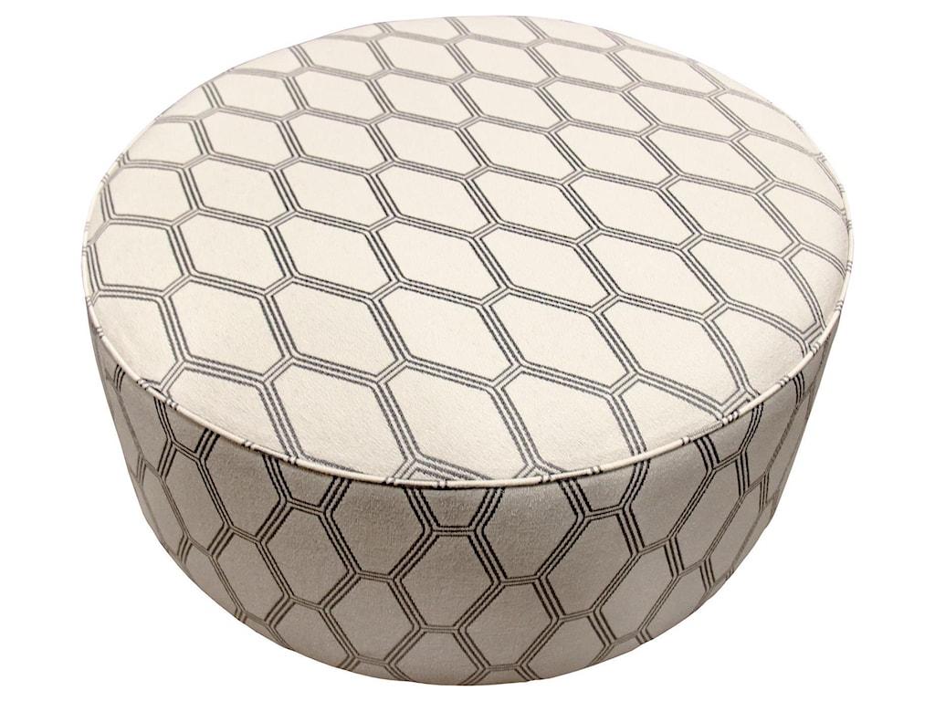 Fusion Furniture BraxtonCocktail Ottoman