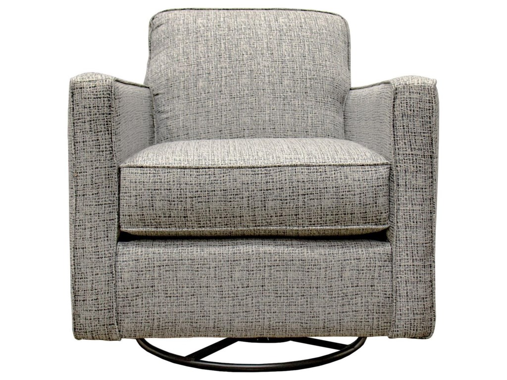 Fusion Furniture BraxtonSwivel Glider Accent Chair