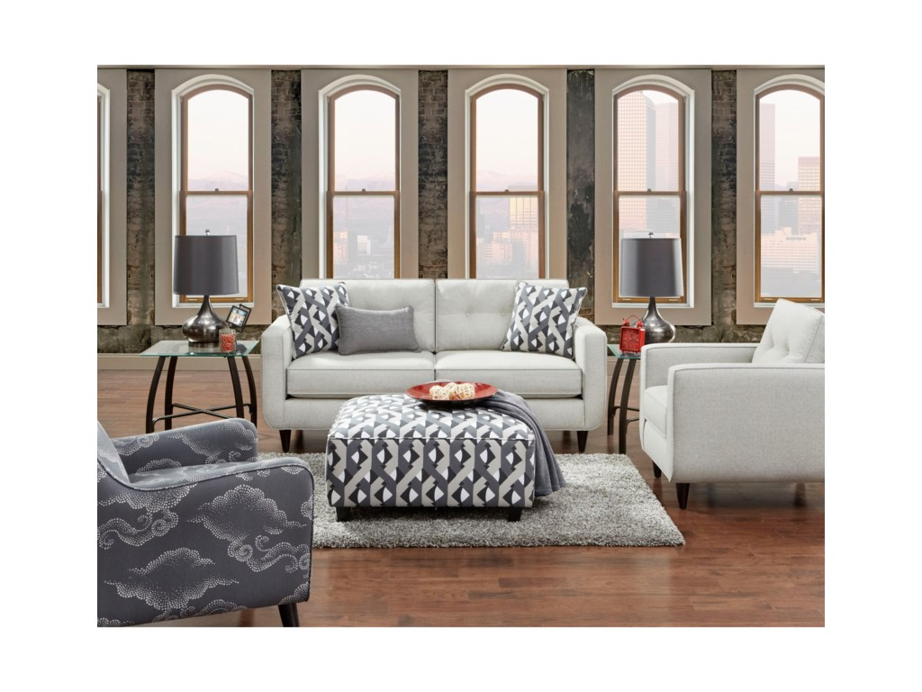 Fusion Furniture (Beaverton Store Only) 109Square Ottoman