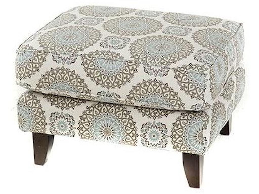 Fusion Furniture 1140 Grande MistAccent Ottoman