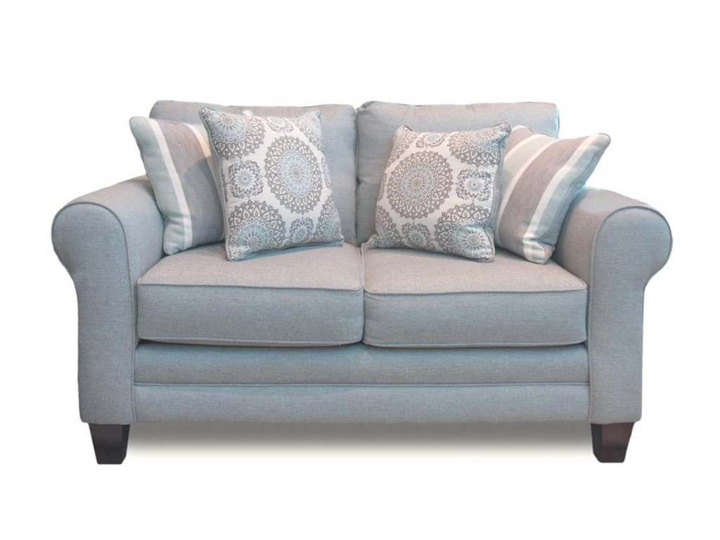 Fusion Furniture Grande MistLoveseat