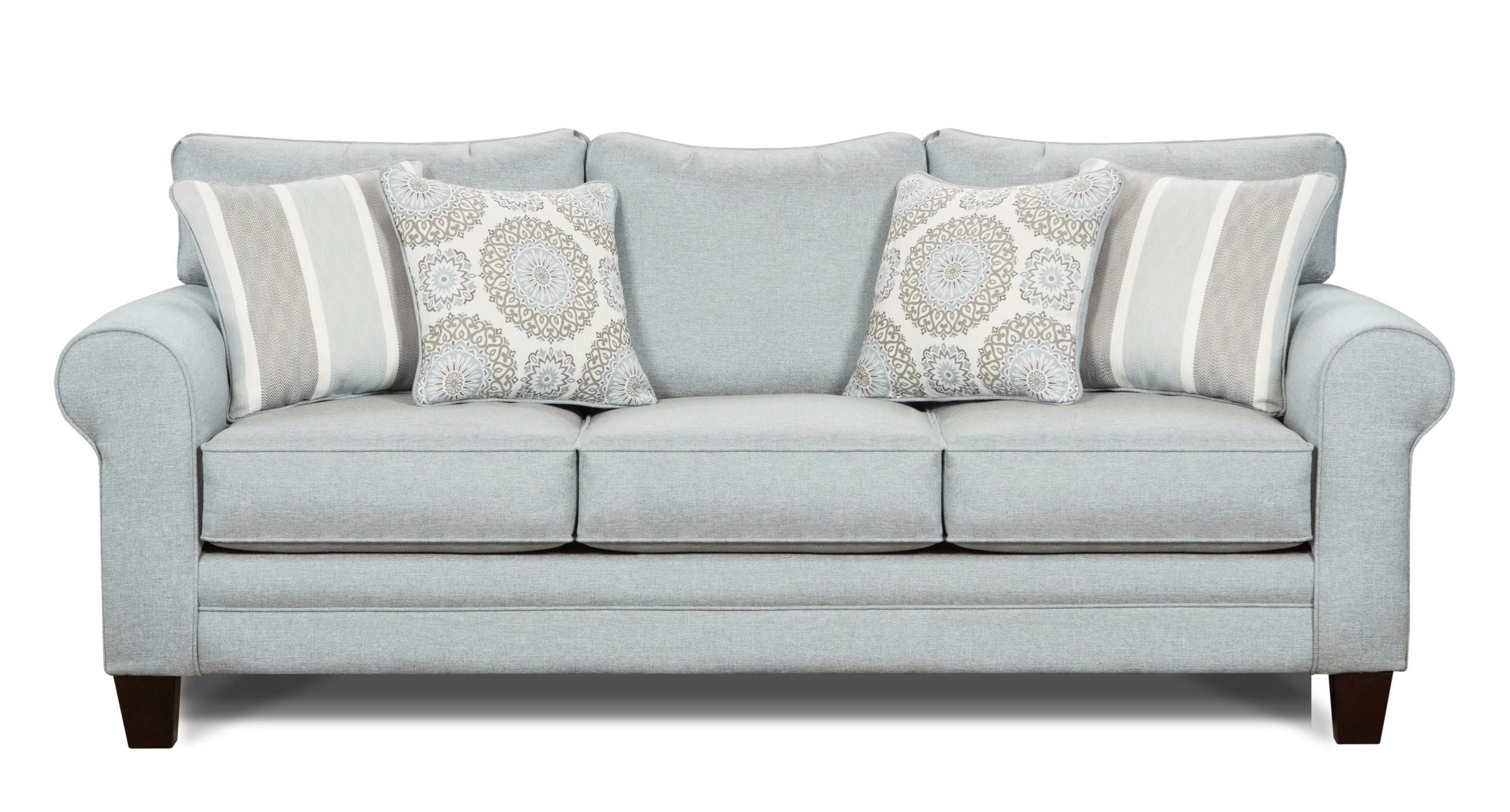 Fusion Furniture Grande MistSleeper Sofa ...