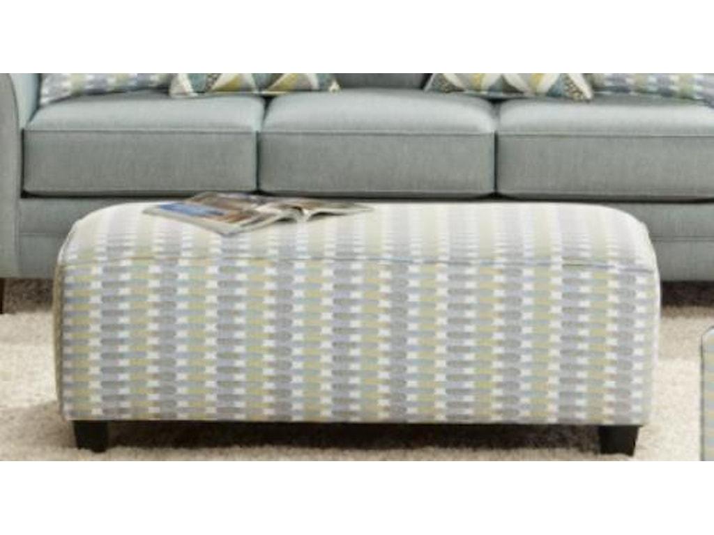 Fusion Furniture 1140Cocktail Ottoman