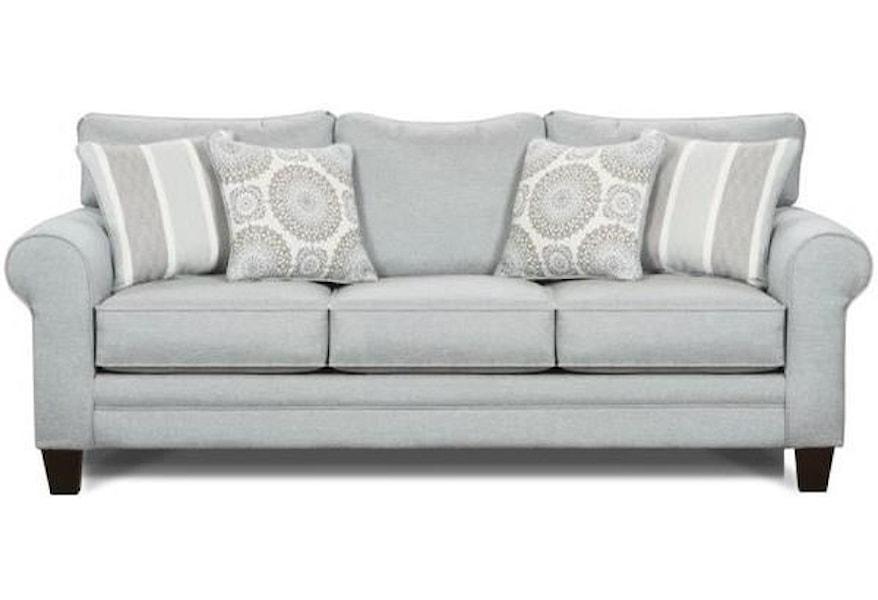 Fusion Furniture 1140 Stationary Sofa W