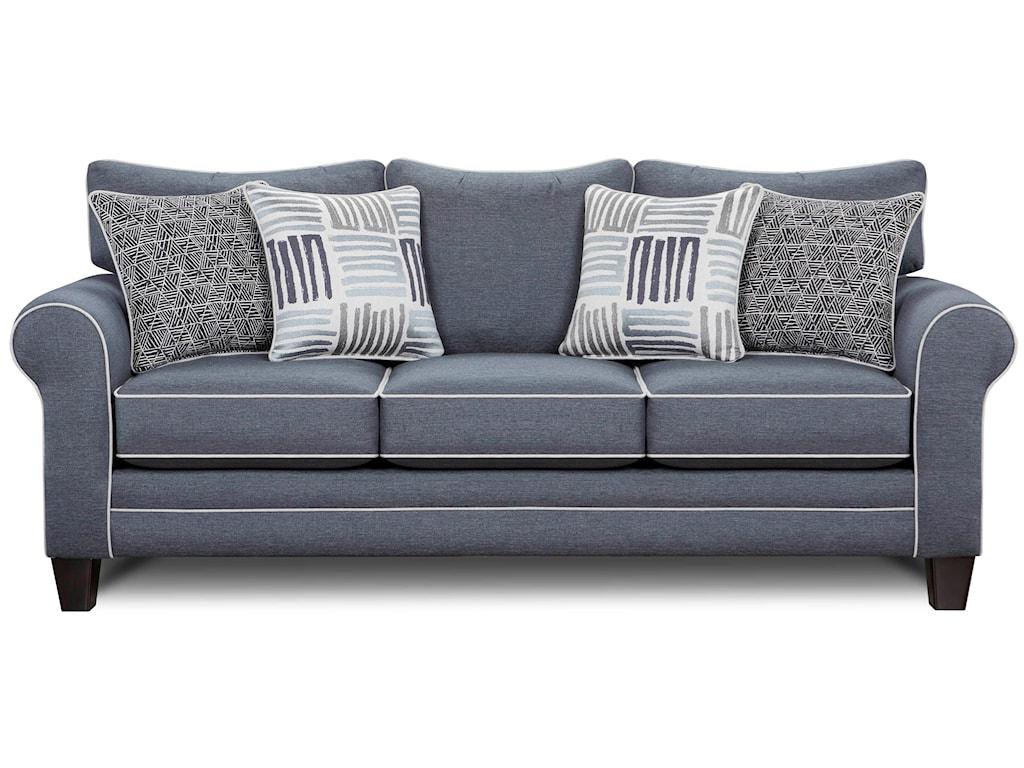 Fusion Furniture 1140Sleeper Sofa