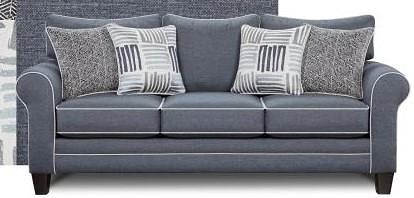 Fusion Furniture 1140Denim Denim Sofa