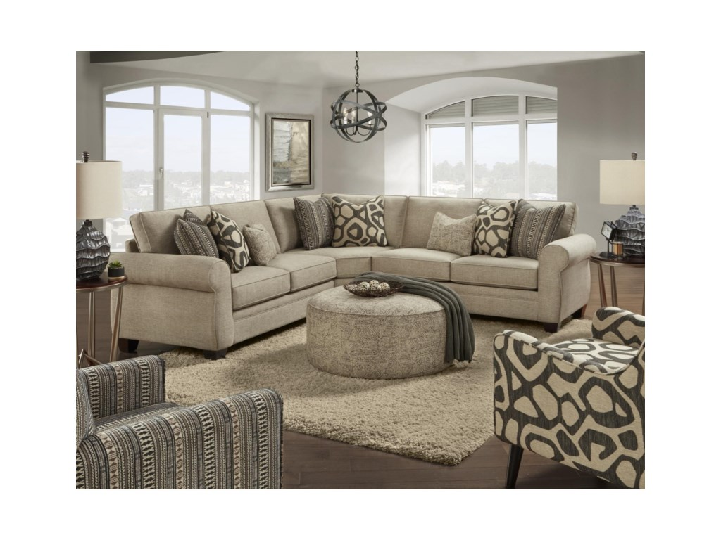 Fusion Furniture 1170Living Room Group