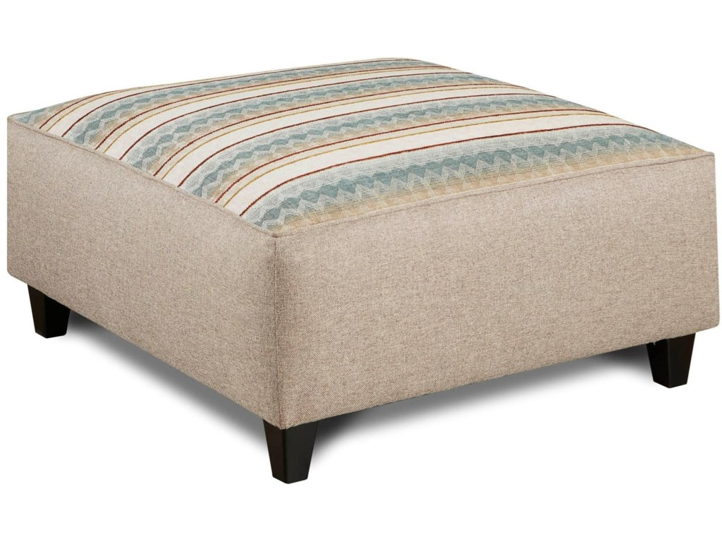 Fusion Furniture 120Square Ottoman