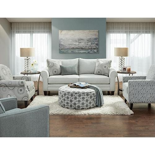 Fusion Furniture 1180 Loveseat