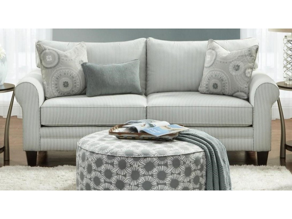 Fusion Furniture 1180Queen Sleeper Sofa
