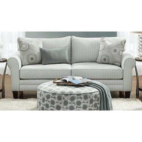 Fusion Furniture 1180 Sleeper Sofa