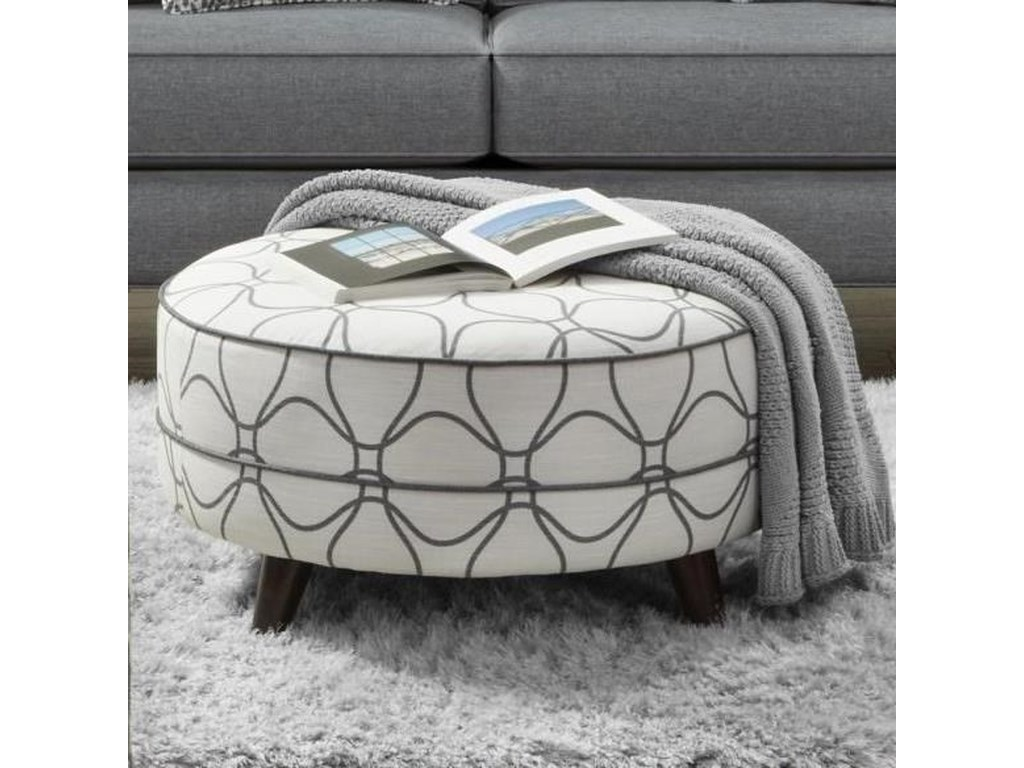 Fusion Furniture 142Cocktail Ottoman
