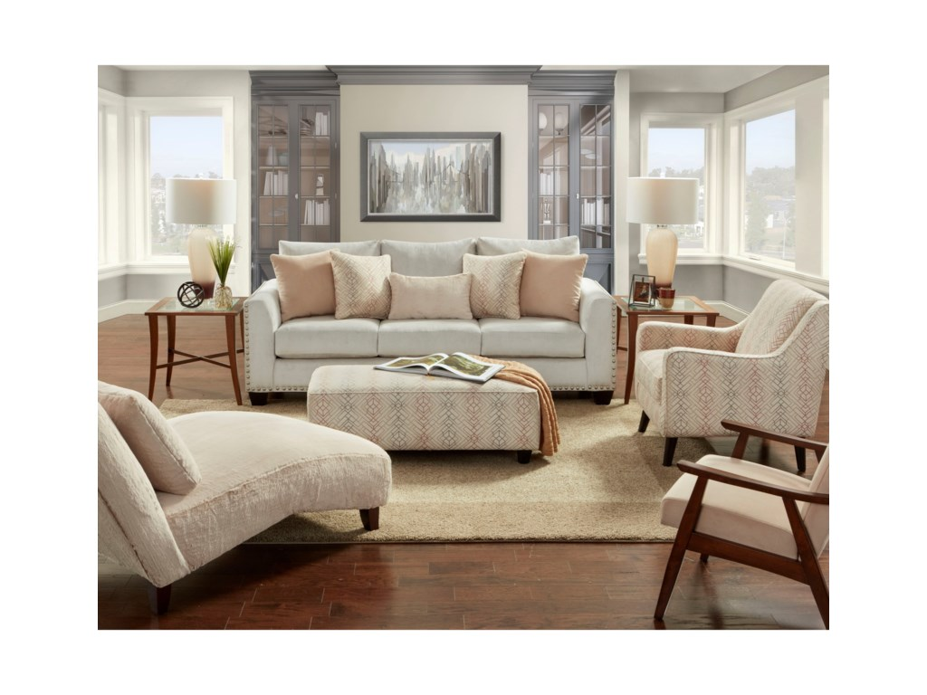 Fusion Furniture 1460Living Room Group