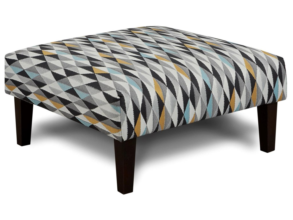 Haley Jordan 159Cocktail Ottoman