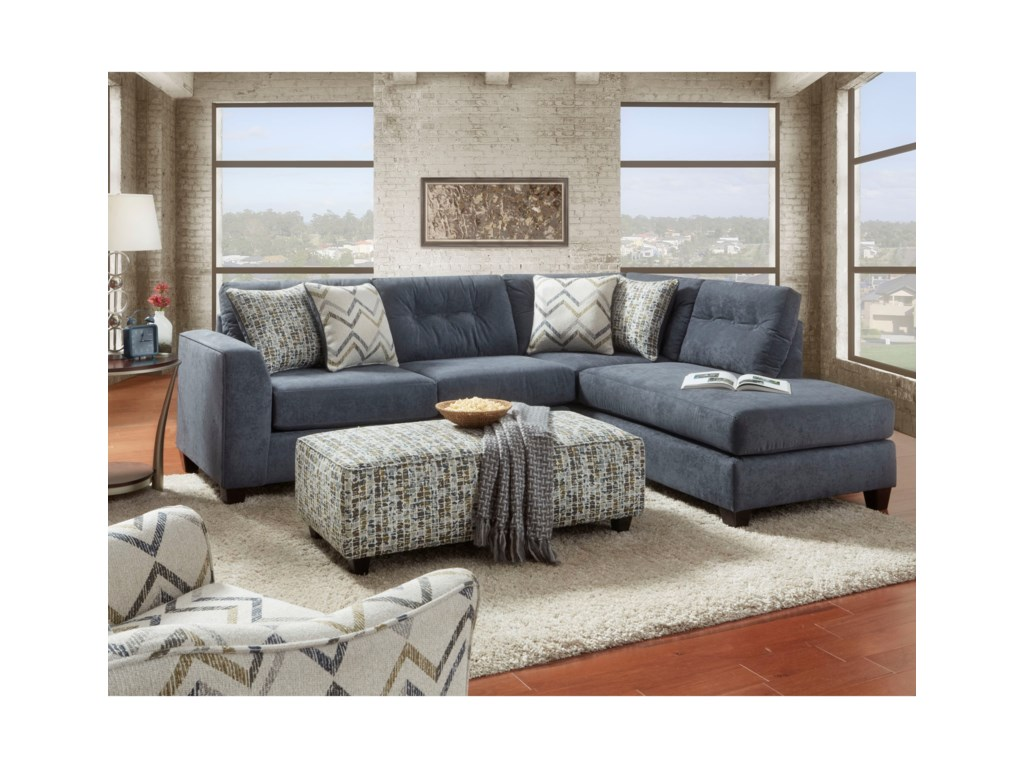 Fusion Furniture 1615Stationary Living Room Group
