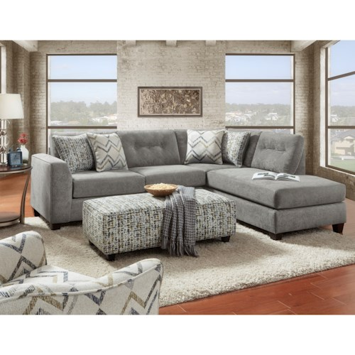 Fusion Furniture 1615 Stationary Living Room Group