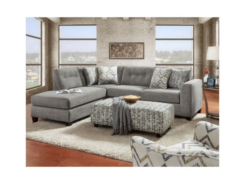 VFM Signature 1615Stationary Living Room Group