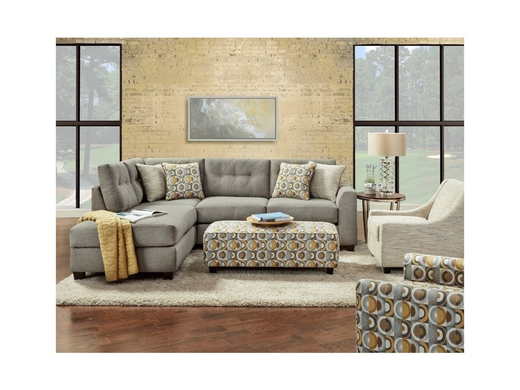 FN 1615Stationary Living Room Group