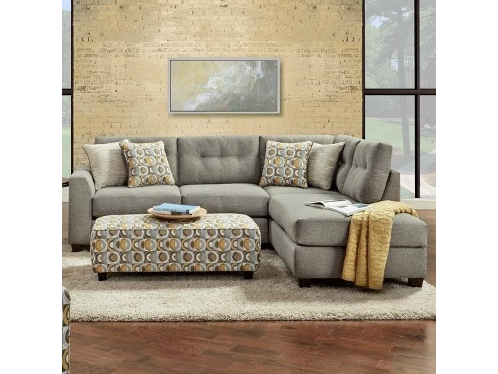 Fusion Furniture 16152-Piece Sectional
