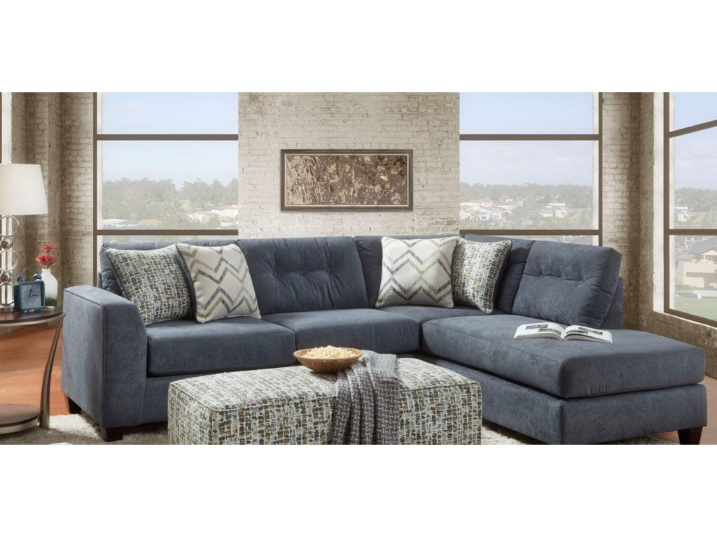 Fusion Furniture (Beaverton Store Only) 16152-Piece Sectional