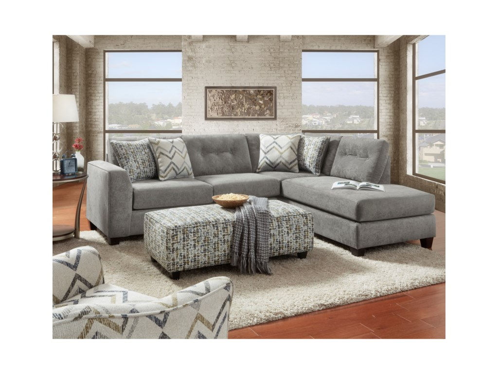 Fusion Furniture 16152 Piece Sectional