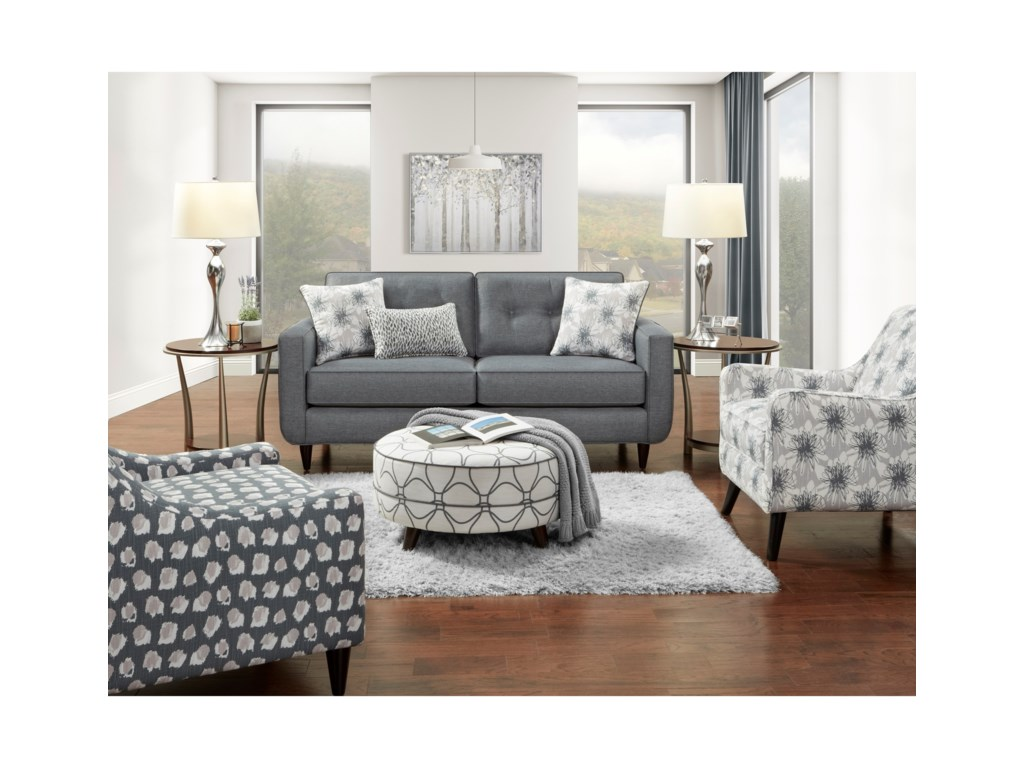 Fusion Furniture 1850Stationary Living Room Group