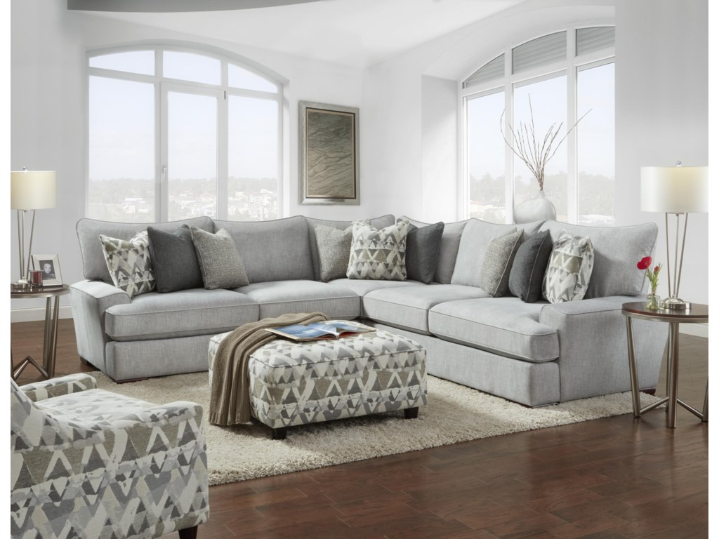 Haley Jordan Baldwin3 Piece Sectional